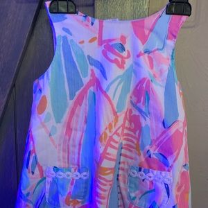 Lilly Pulitzer infant shift dress in Out to Sea
